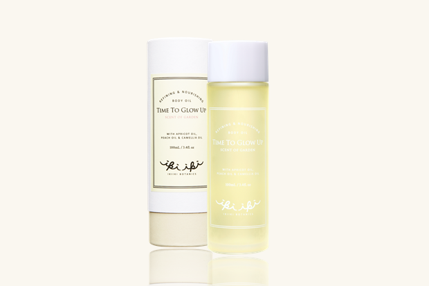 TIME TO GLOW UP・BODY OIL・GARDEN